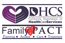 California Department of Health Care Services Family PACT logo
