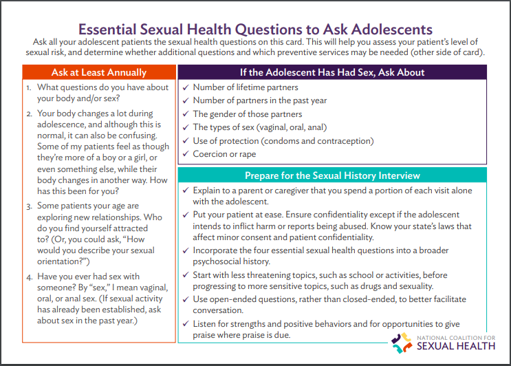Essential Sexual Health Questions to Ask Adolescents