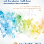 Preventative Male Sexual and Reproductive Health Care: Recommendations for Clinical Practice
