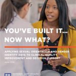 You've Built It…Now What? Applying Sexual Orientation and Gender Identity Data to Clinical Quality Improvement and Decision Support (National LGBT Health Education Center)