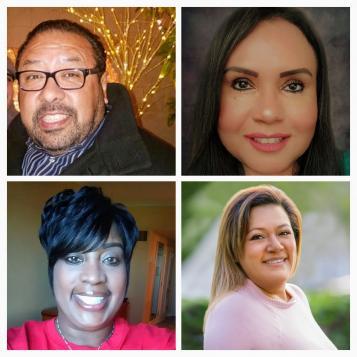 Alberto Perez, Denise Tafoya, Veronica Espinoza and Wanda Jackson